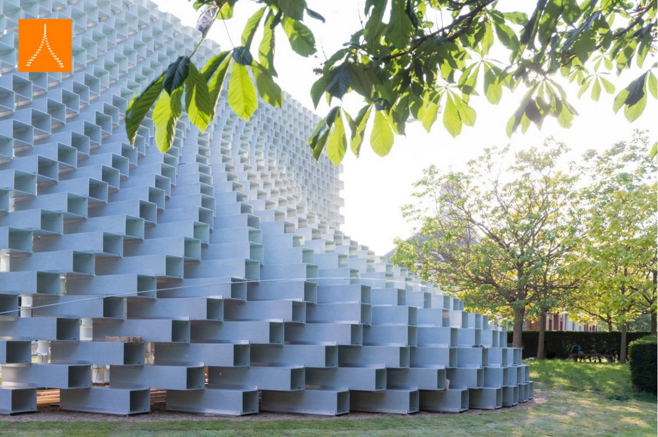 2016 Serpentine Pavilion by BIG: The unzipped walls - Sheet6