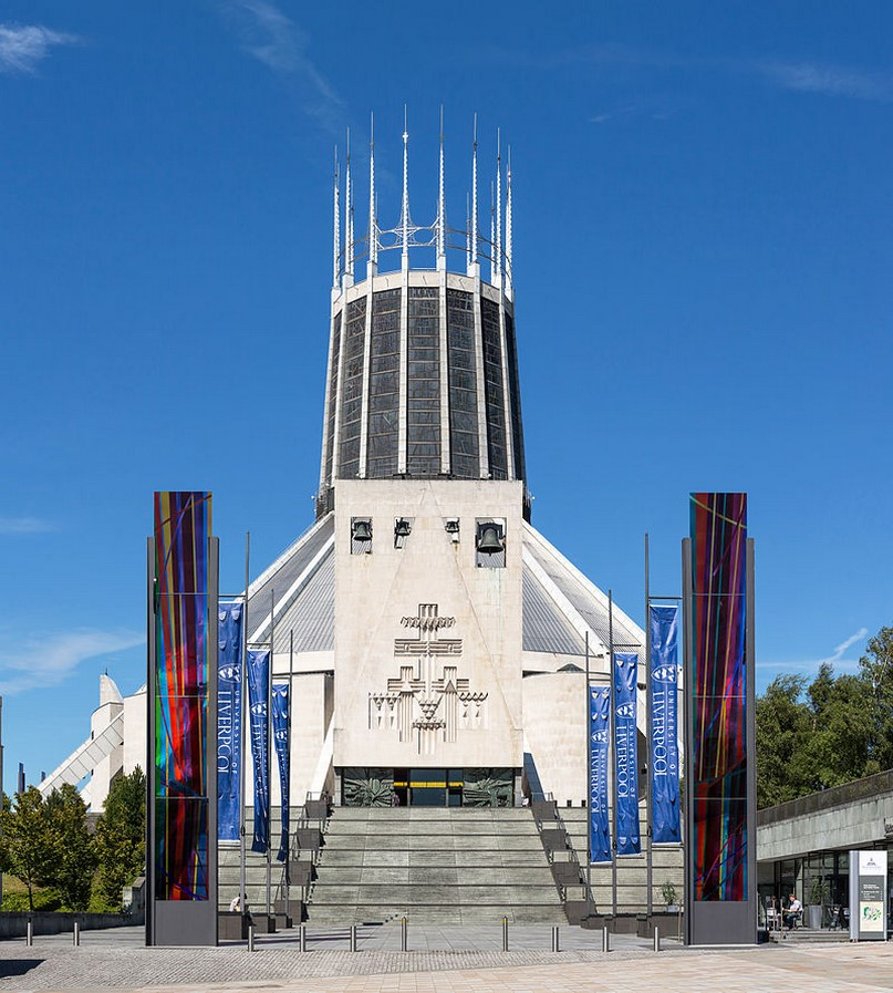 Liverpool Metropolitan Cathedral, England - Sheet1