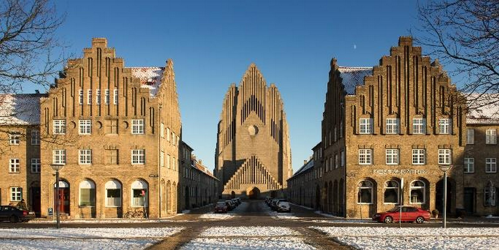 Grundtvig's Church, Denmark - Sheet1