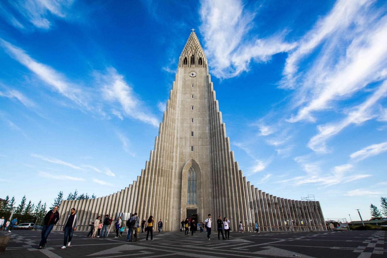 Hallgrímskirkja church, Iceland - Sheet1