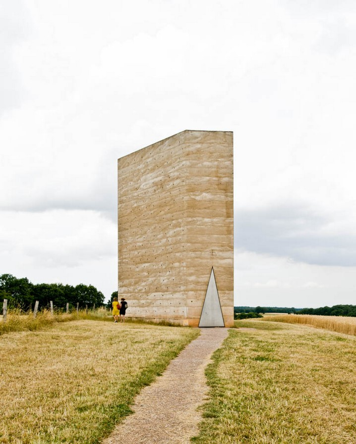Bruder Klaus Field Chapel, Germany - Sheet1