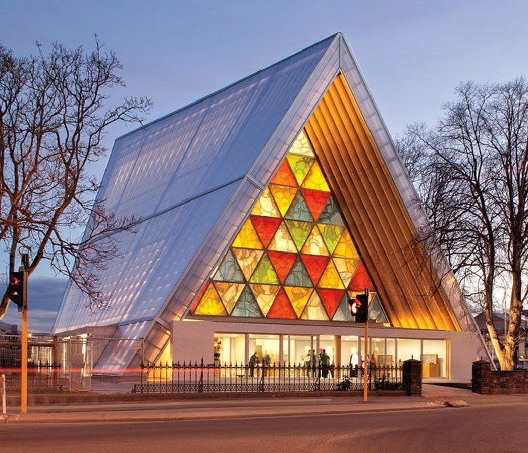 Christchurch Cardboard Cathedral, New Zealand - Sheet1