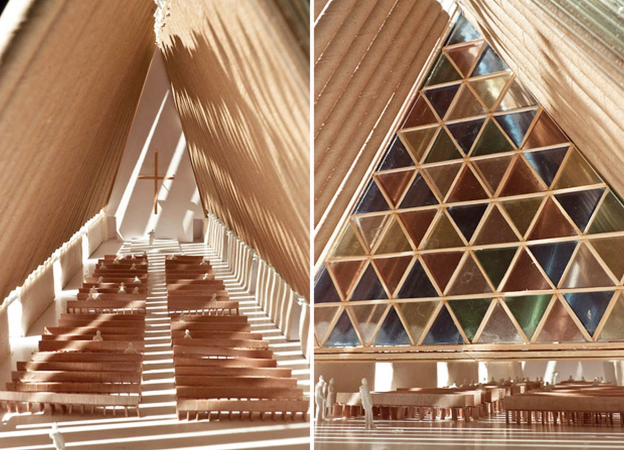 Christchurch Cardboard Cathedral, New Zealand - Sheet2