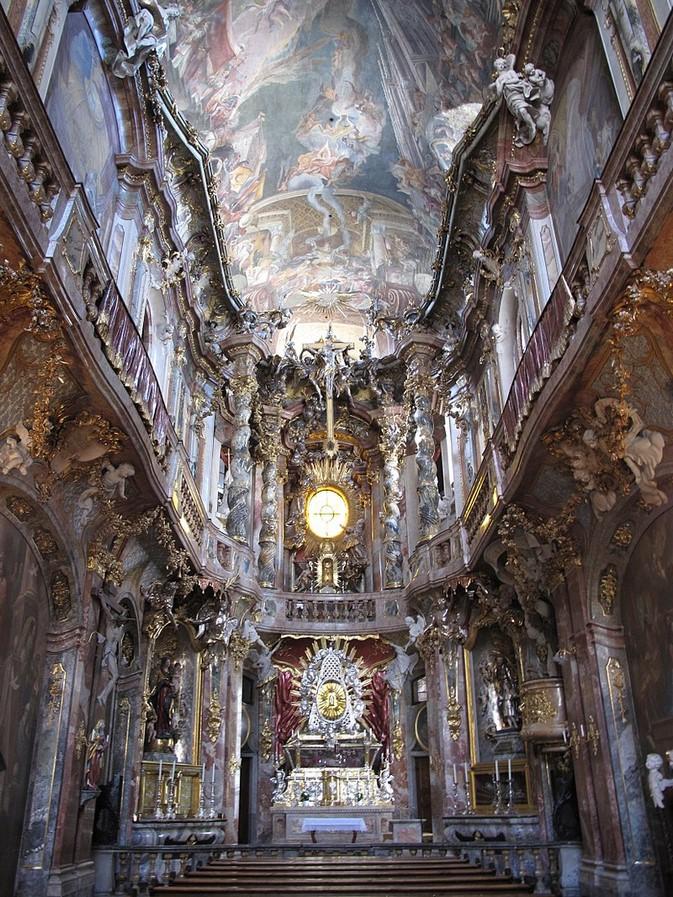 Asam Church - sheet2