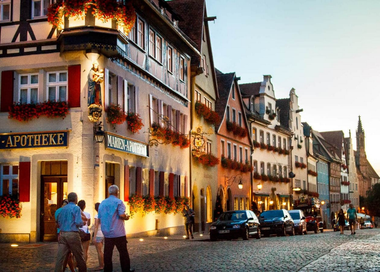 Rothenburg and Romantic Road - Sheet2