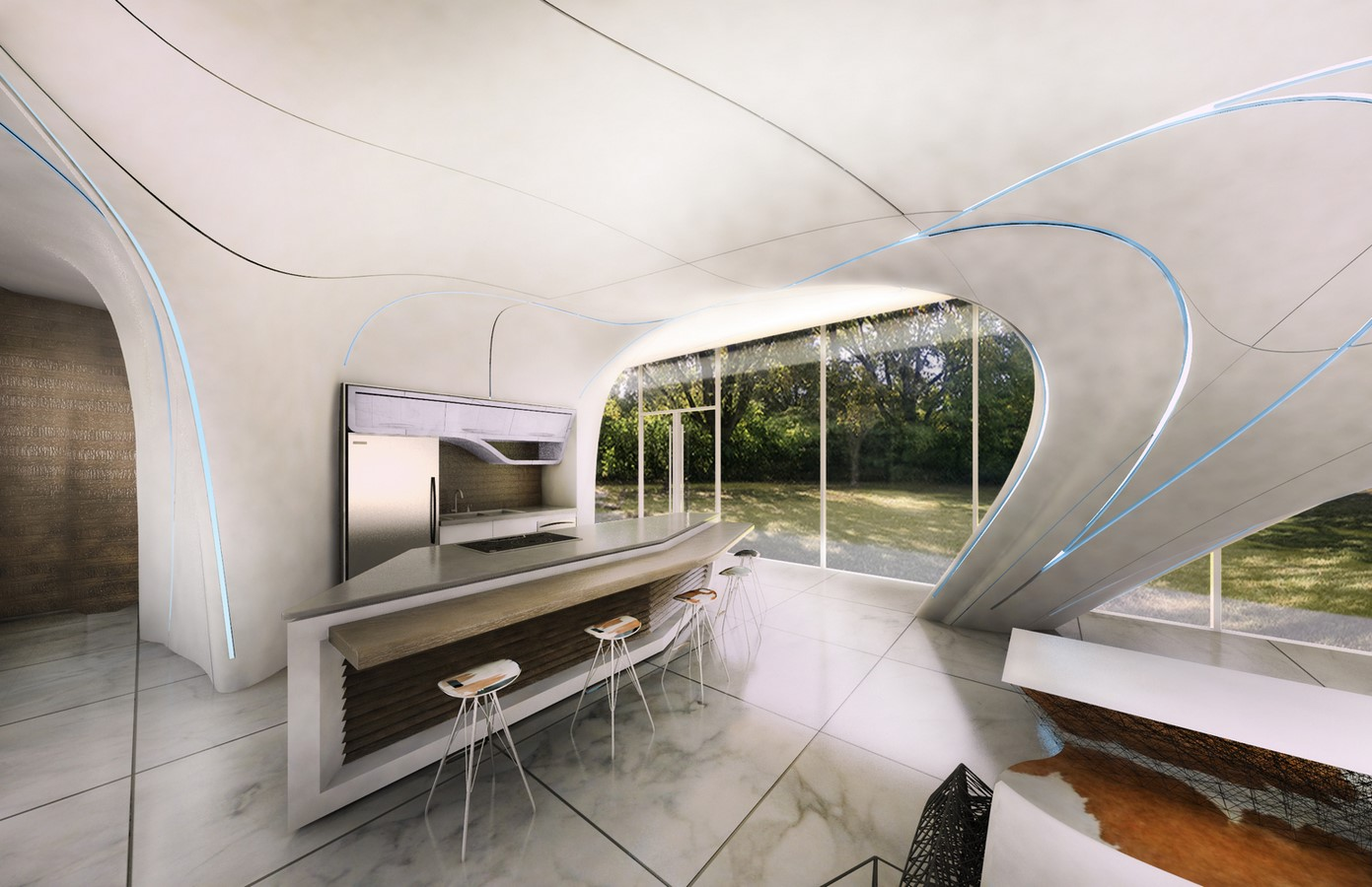 Concrete 3D Printing: 10 Residential Projects around the World - Sheet8