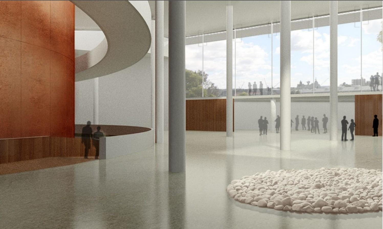 Sydney Modern Project by Rahul Mehrotra: Fabric for Art - Sheet5