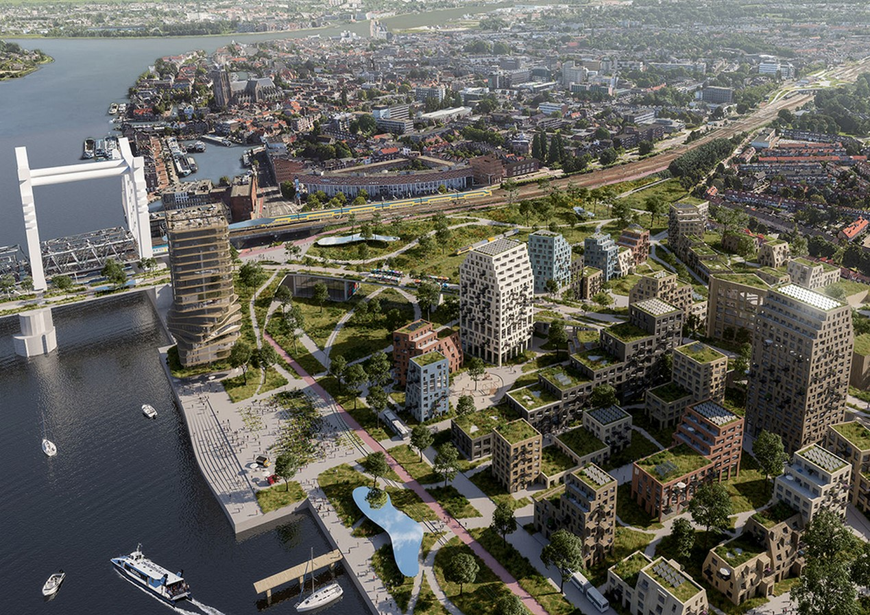 An Expansive Railway Zone in Holland's Oldest City reimagined by Mecanoo - Sheet3