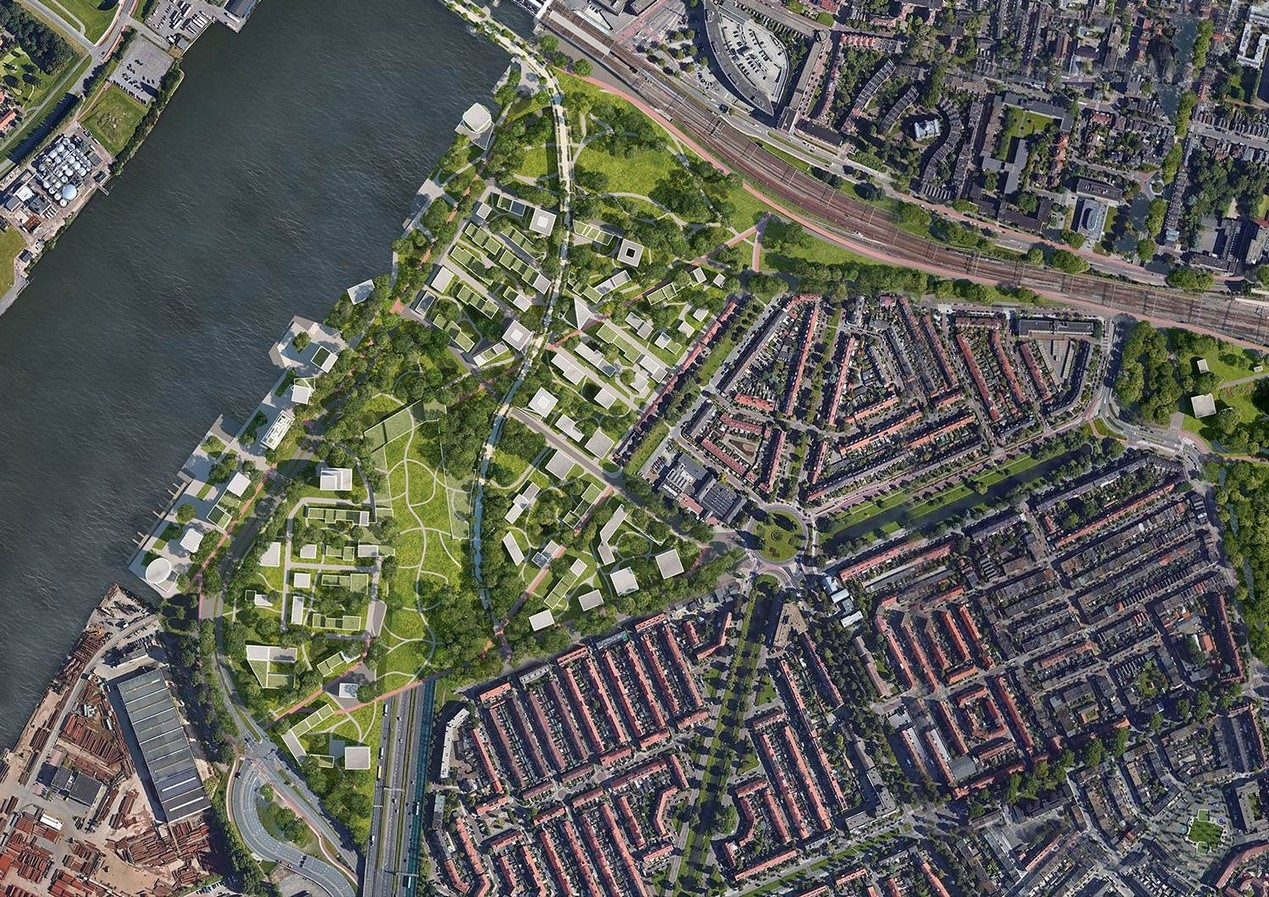 An Expansive Railway Zone in Holland's Oldest City reimagined by Mecanoo - Sheet5