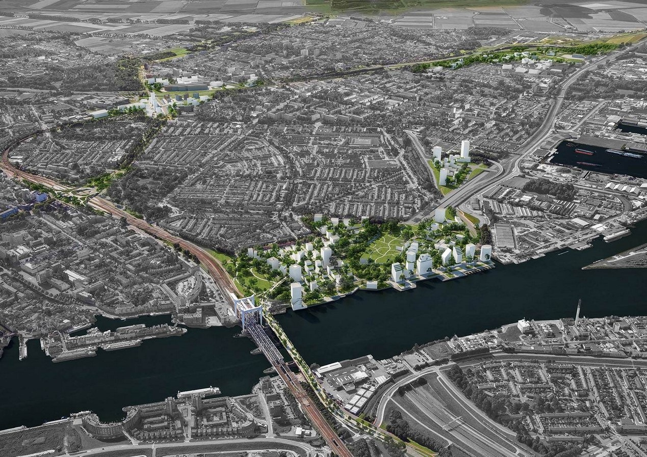 An Expansive Railway Zone in Holland's Oldest City reimagined by Mecanoo - Sheet6