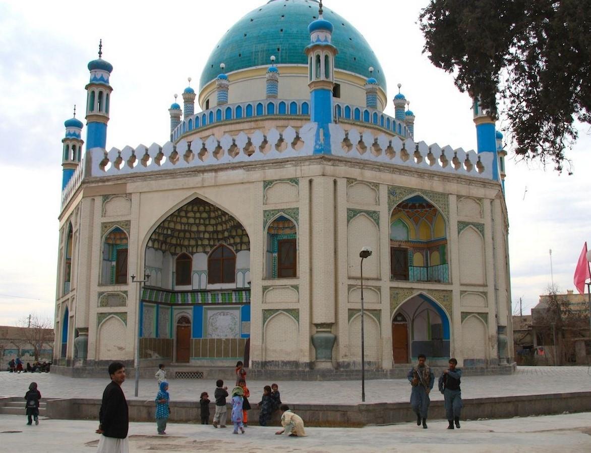 Ahmad Shah Durrani Mausoleum- Sheet1