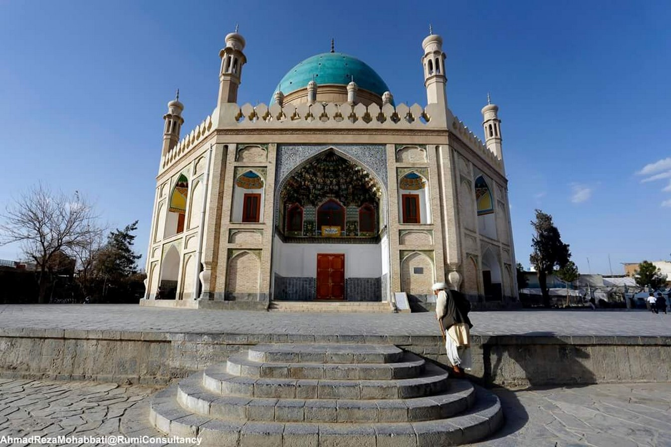 Ahmad Shah Durrani Mausoleum- Sheet2