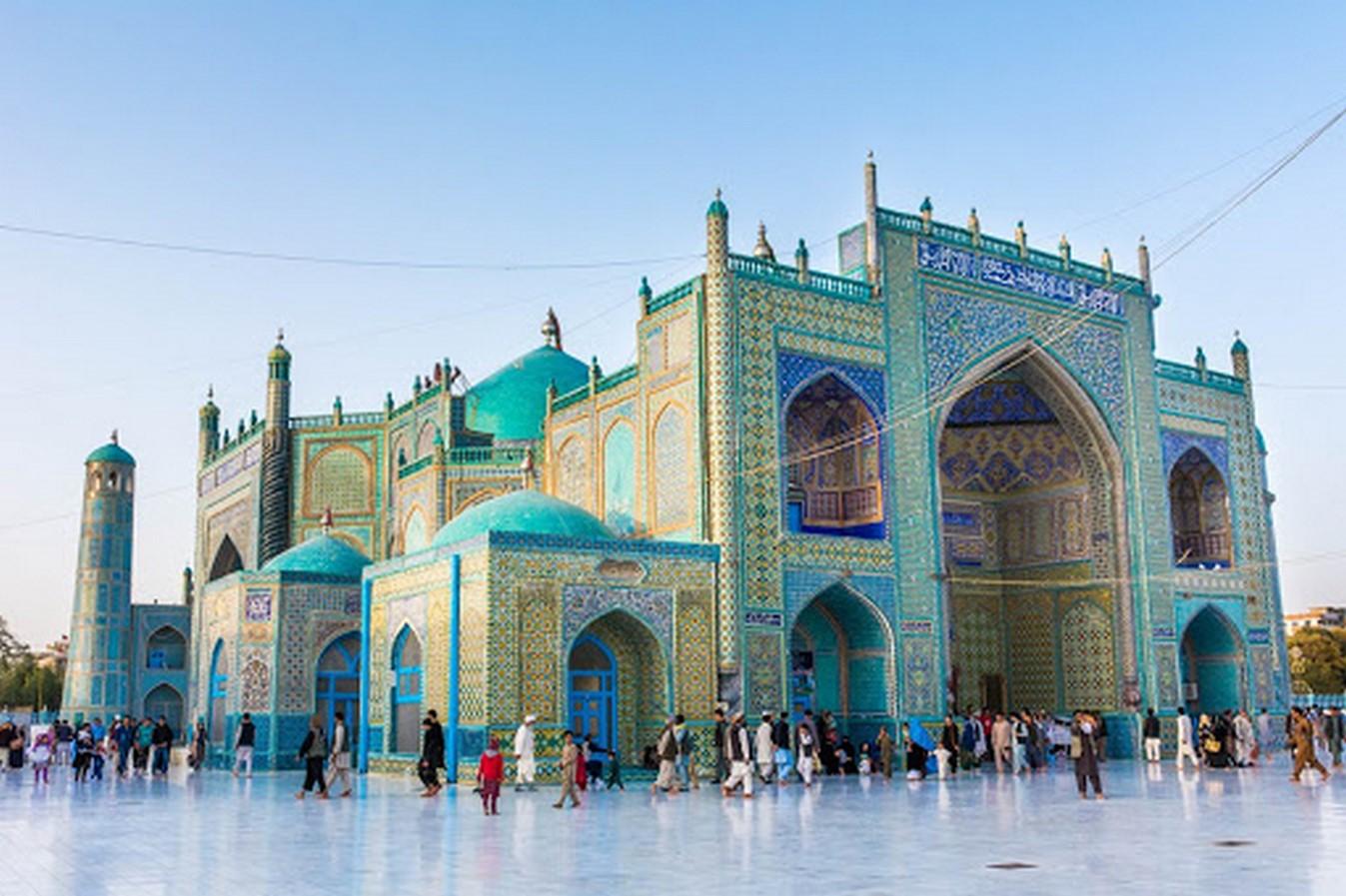 Blue Mosque (Shrine of Hazrat Ali) /Rawza-i-Sharif - Sheet3