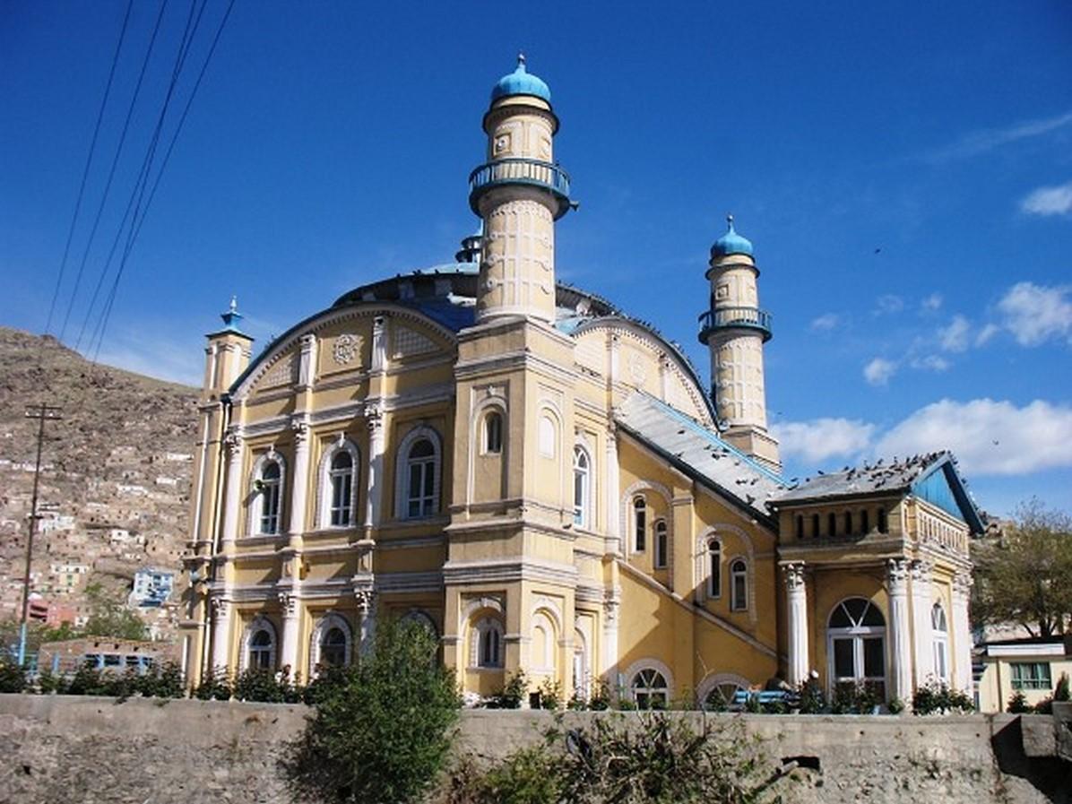 Shah do shamshira (Mosque of the king of two swords) - Sheet1