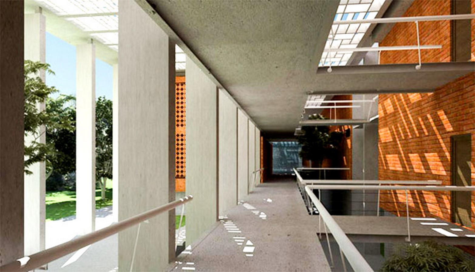 The Lalit Suri Hospitality School by Morphogenesis: In cohabitation with nature - Sheet5