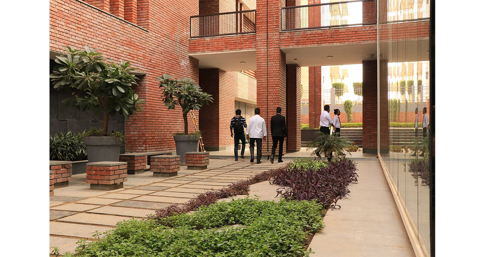The Lalit Suri Hospitality School by Morphogenesis: In cohabitation with nature - Sheet6