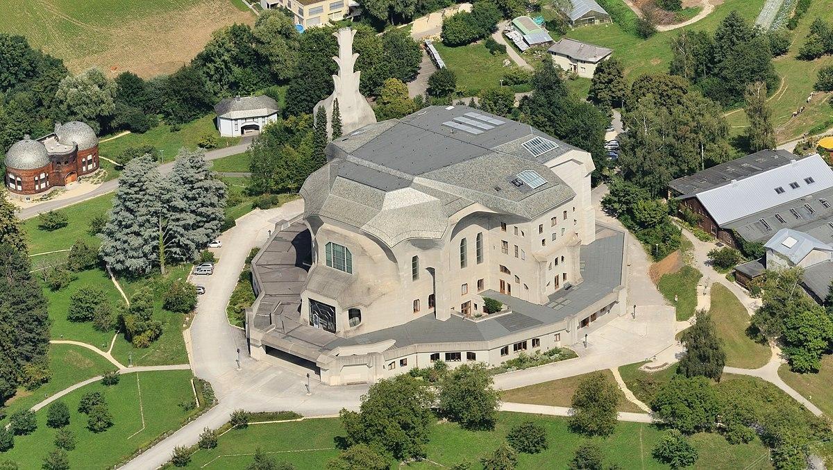 Goetheanum, Dornach, Switzerland by Rudolf Steiner - Sheet1