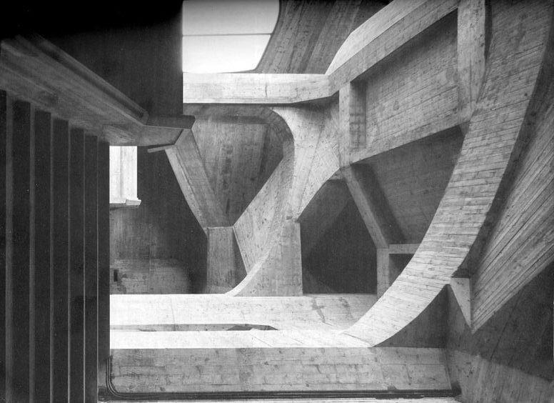 Goetheanum, Dornach, Switzerland by Rudolf Steiner - Sheet3