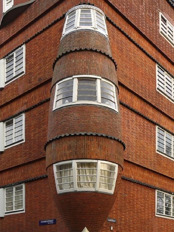 Expressionist Architecture: an Individual Statement - Eigen Haard Housing Estate, Amsterdam, Netherlands, Michel de Klerk - Sheet2