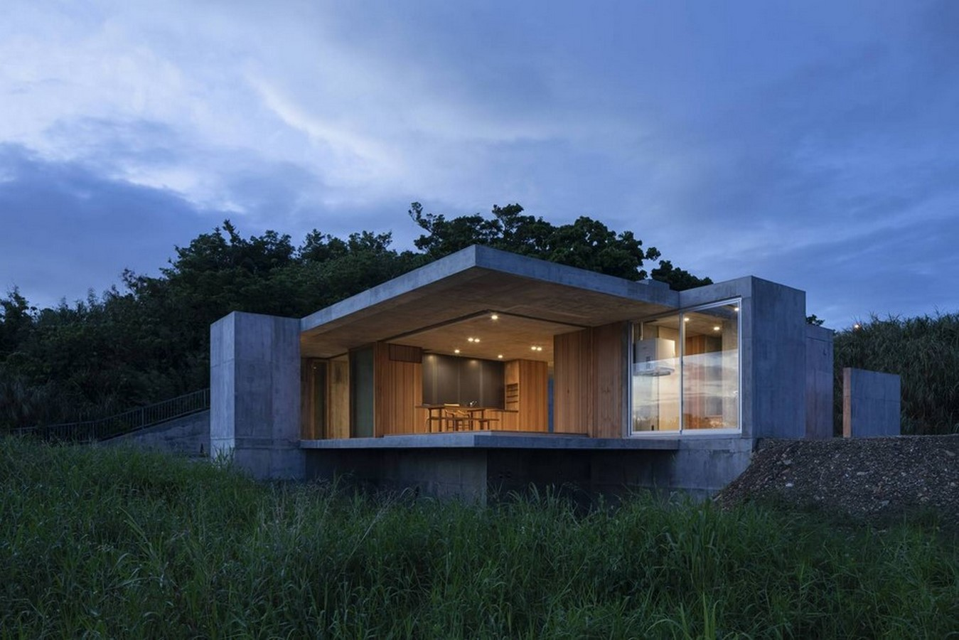 50 Examples of Modern concrete homes - Sheet11