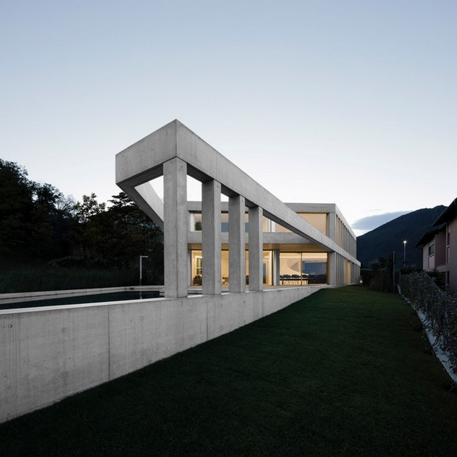 50 Examples of Modern concrete homes - Sheet15