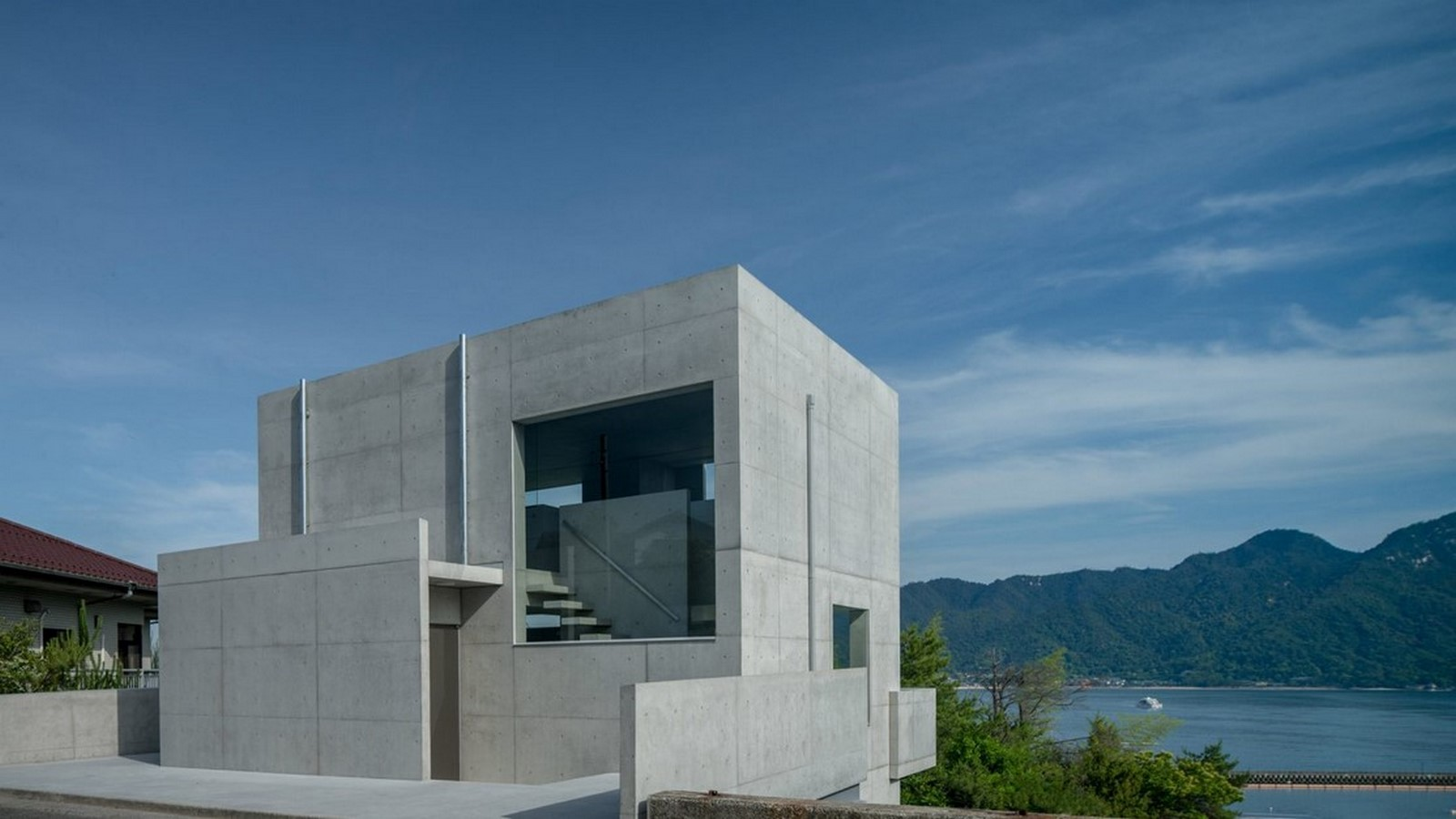 50 Examples of Modern concrete homes - Sheet16