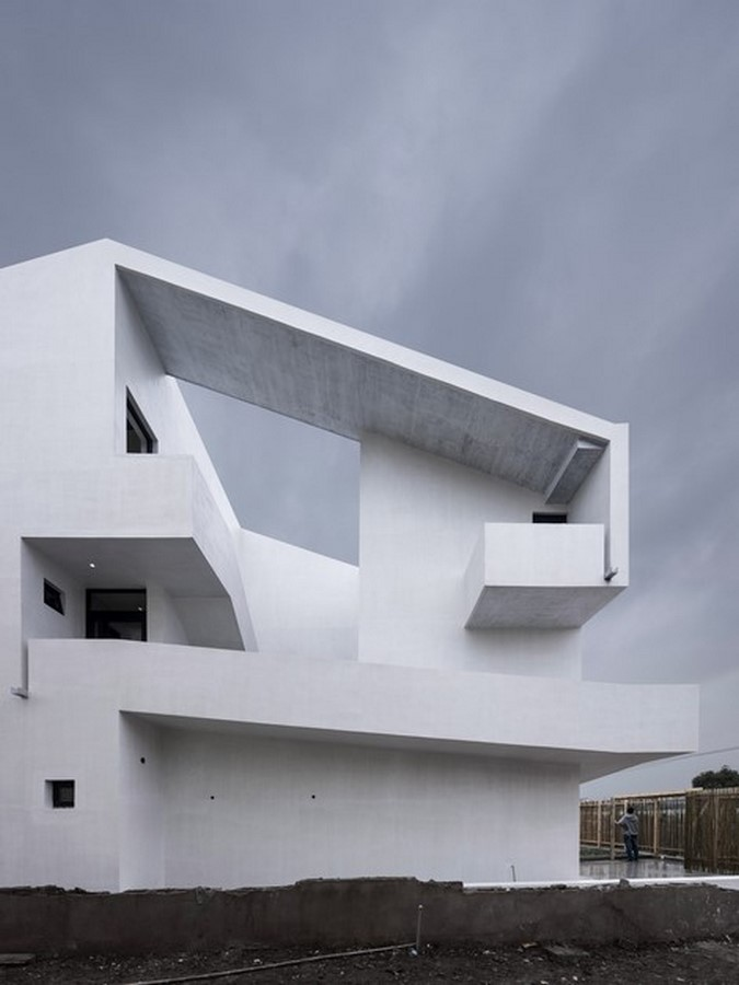50 Examples of Modern concrete homes - Sheet18