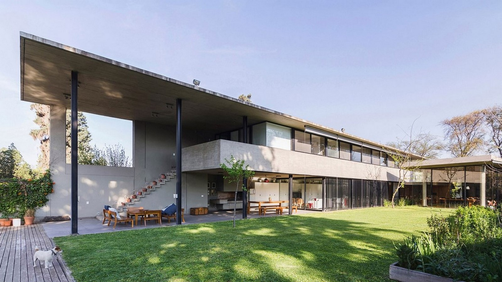 50 Examples of Modern concrete homes - Sheet19