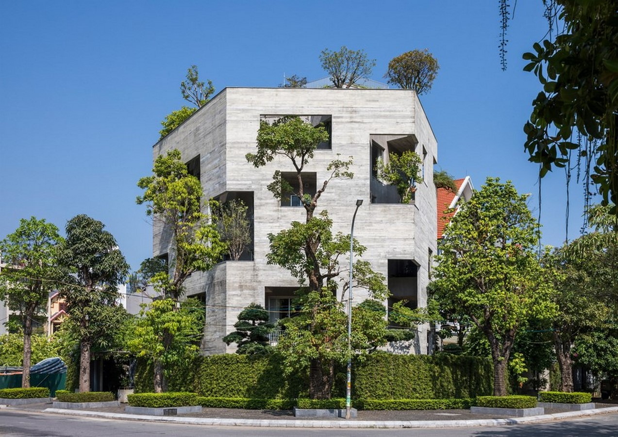 50 Examples of Modern concrete homes - Sheet1