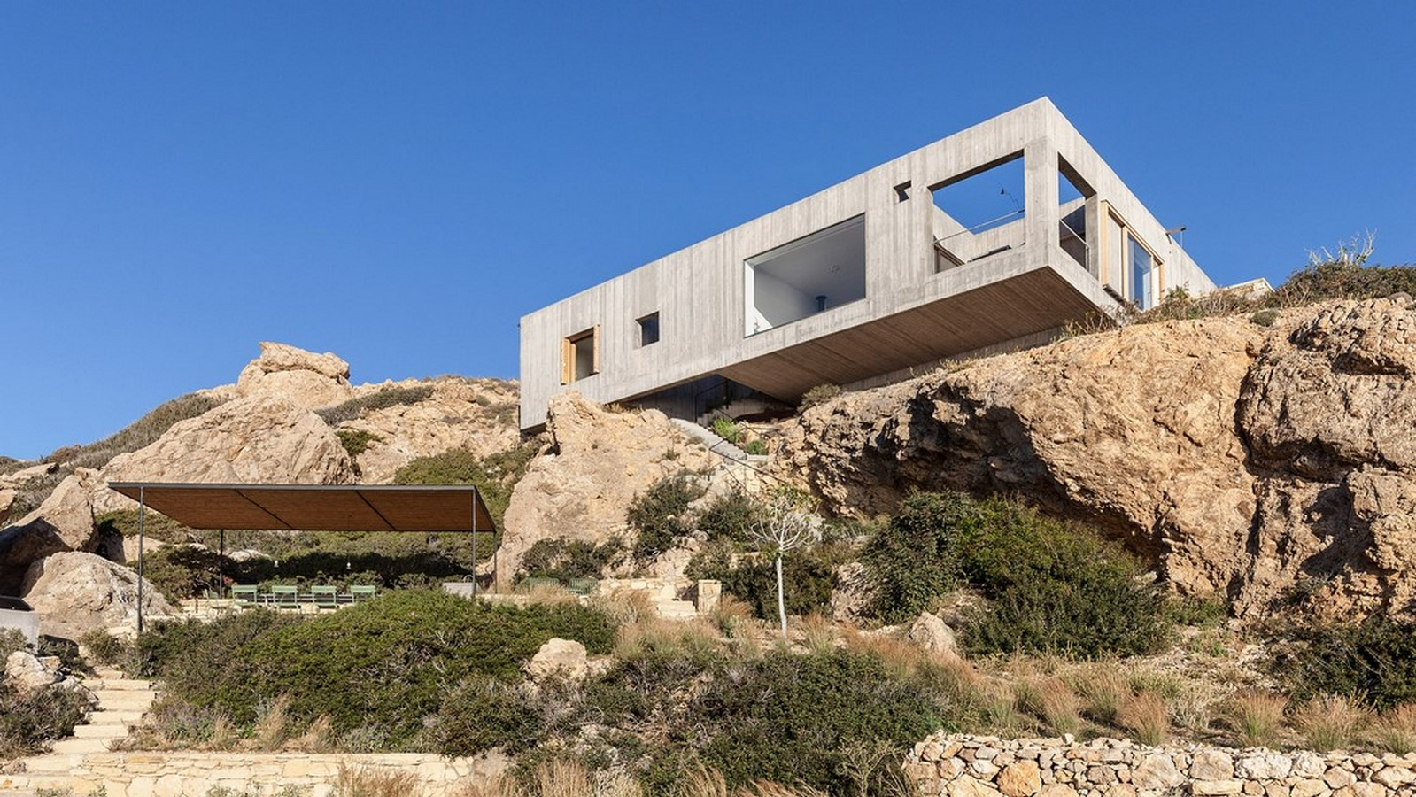 50 Examples of Modern concrete homes - Sheet20