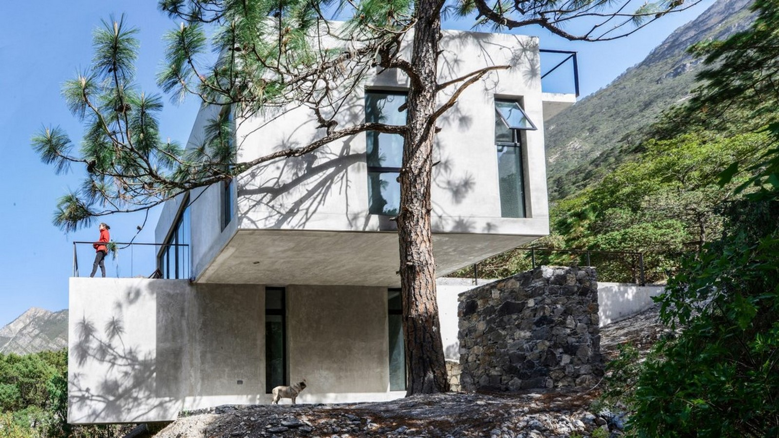50 Examples of Modern concrete homes - Sheet21