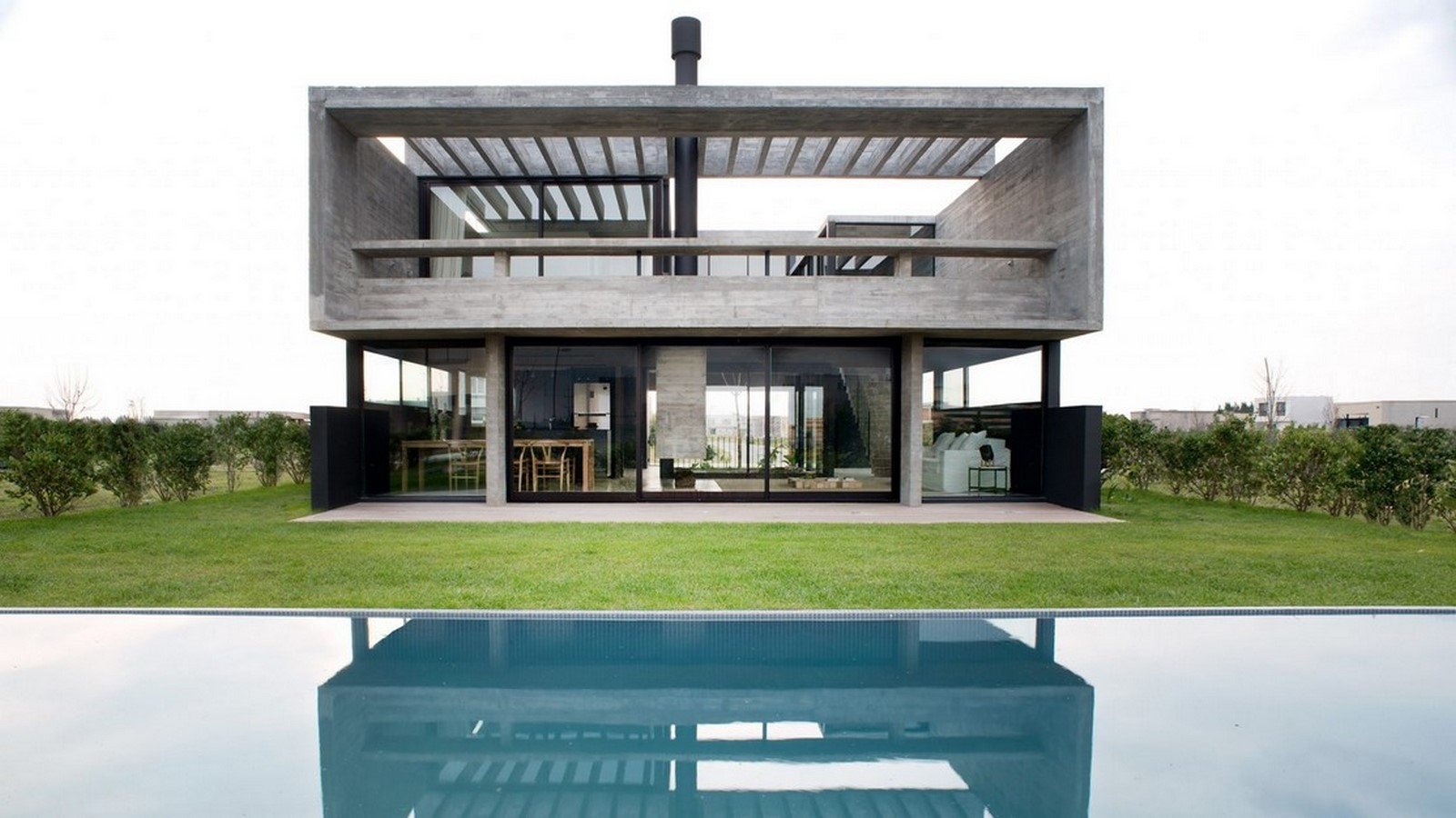 50 Examples of Modern concrete homes - Sheet2