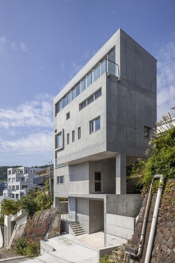 50 Examples of Modern concrete homes - Sheet30