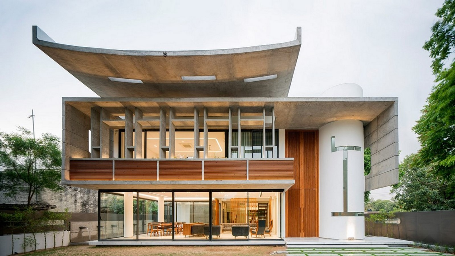 50 Examples of Modern concrete homes - Sheet3