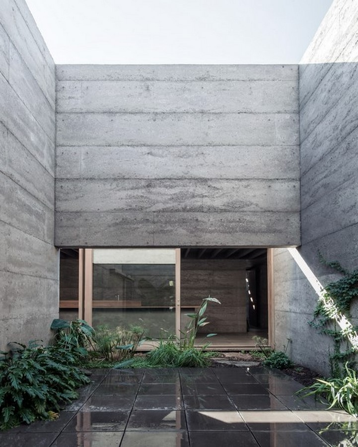 50 Examples of Modern concrete homes - Sheet44