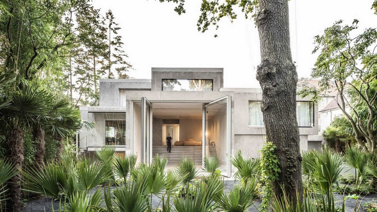 50 Examples of Modern concrete homes - Sheet45