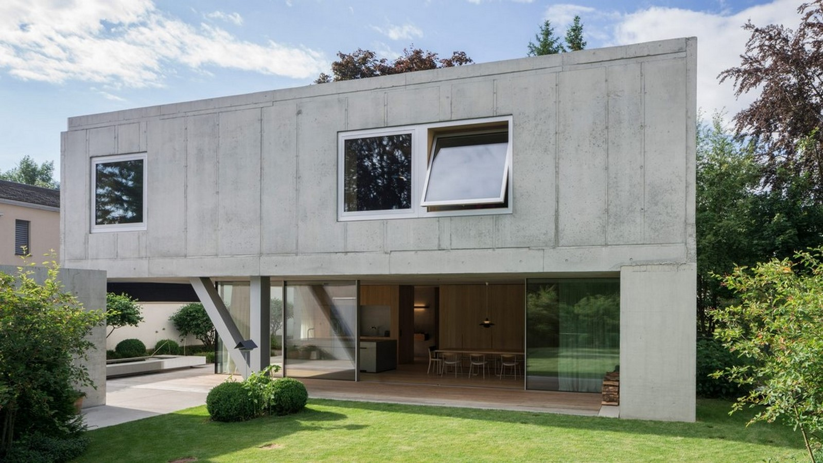 50 Examples of Modern concrete homes - Sheet46