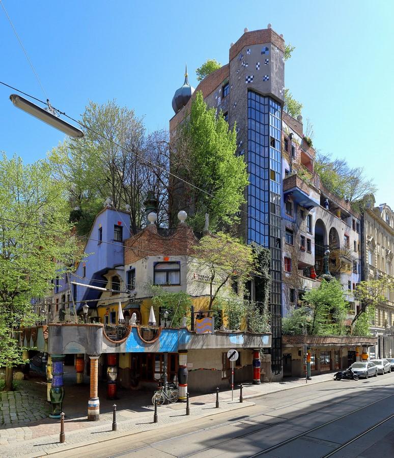Hundertwasserhaus, Kegelgasse 36-38, 1030 Wien, Austria- Sheet1