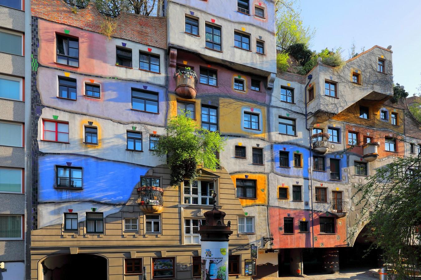 Hundertwasserhaus, Kegelgasse 36-38, 1030 Wien, Austria- Sheet2
