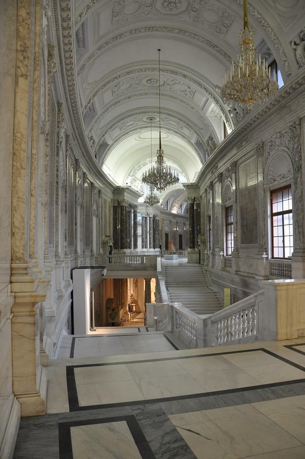 The Imperial Palace of Hofburg, Michaelerkuppel, 1010 Wien, Austria - Sheet