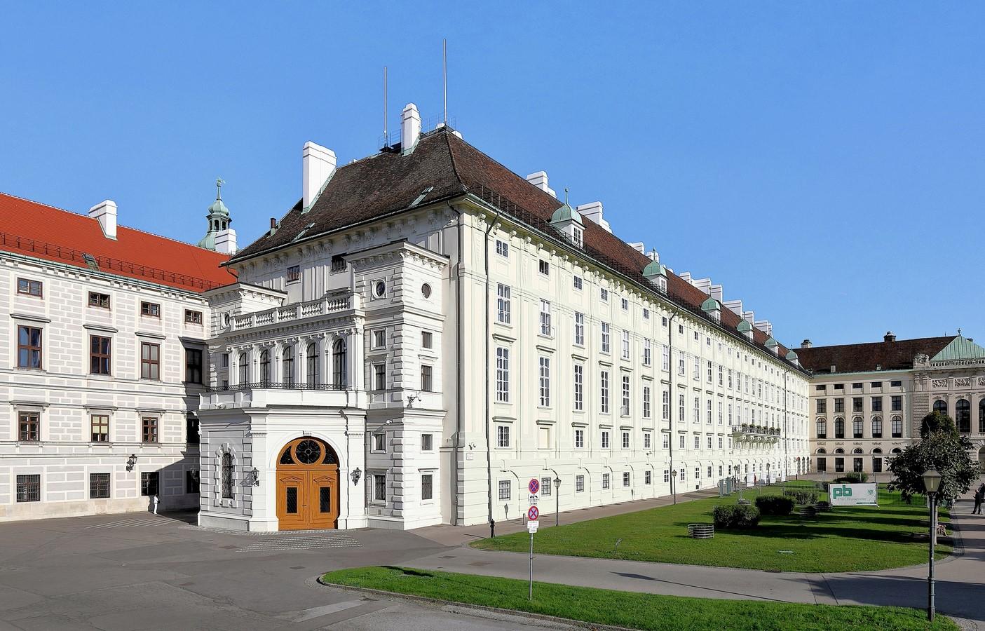 The Imperial Palace of Hofburg, Michaelerkuppel, 1010 Wien, Austria - Sheet3