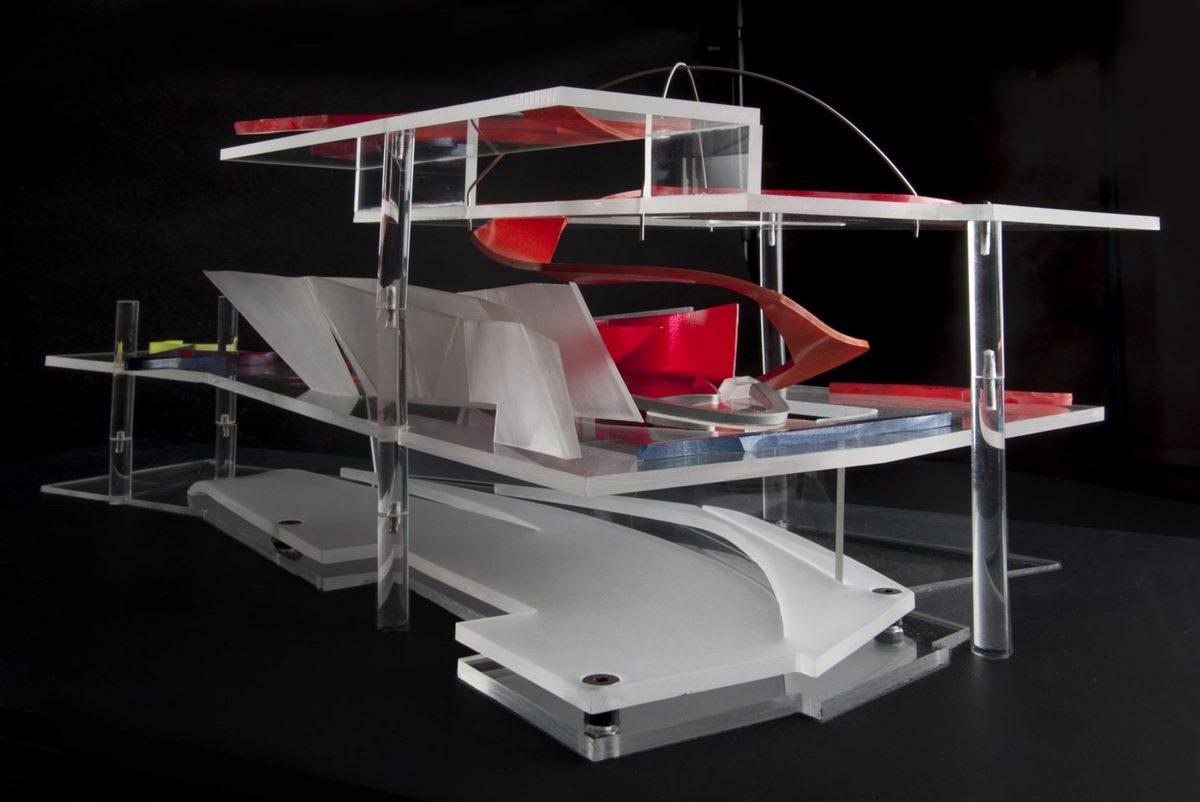 Moonsoon Restaurant by Zaha Hadid: Hypertechnological Architecture - Sheet1
