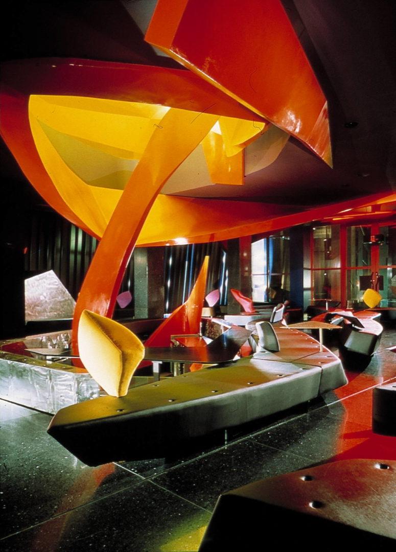 Moonsoon Restaurant by Zaha Hadid: Hypertechnological Architecture - Sheet5