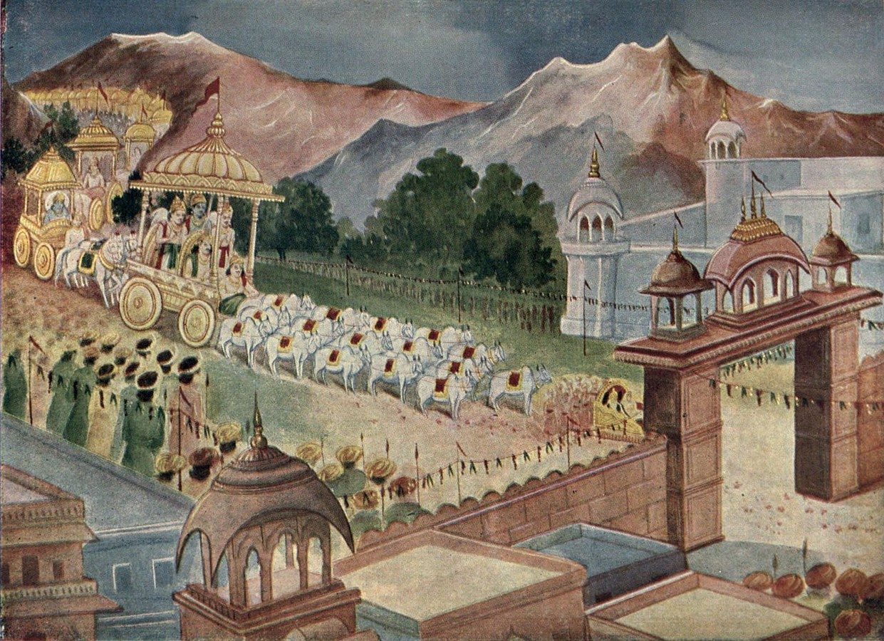 Architecture In Mythology: Architecture As Described In The Mahabharata - Sheet6