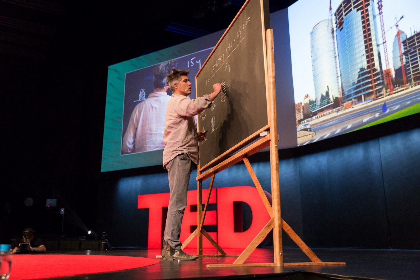 Tedtalk for Architects: Alejandro Aravena: My architectural philosophy? Bring the community into the process - Sheet1