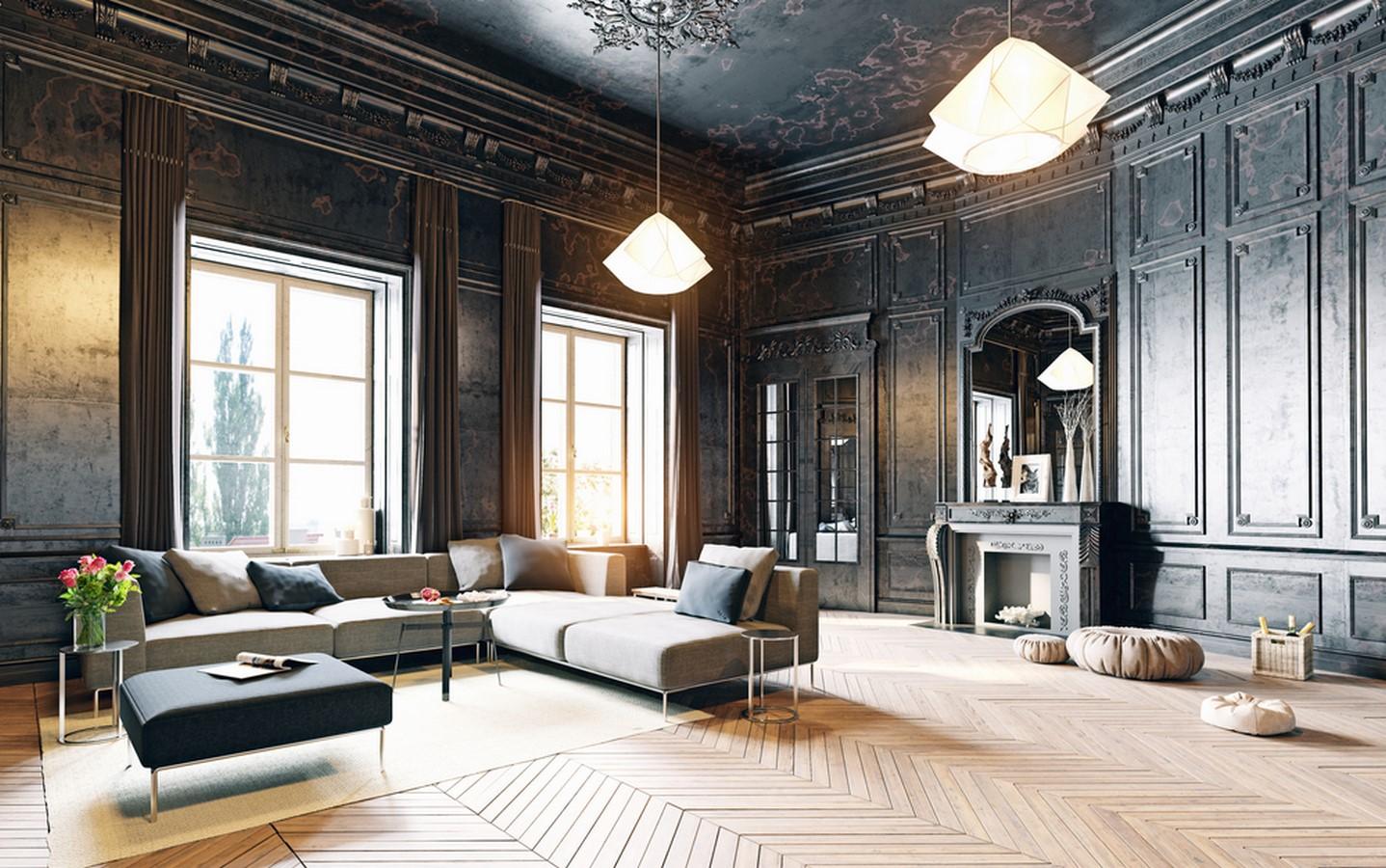 vintage inspired homes, vintage homes, architectural works - Sheet10