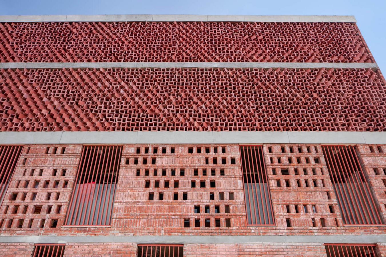 Girls' Hostel Featuring Free-Standing Façade In Gurugram built by Zero Energy Design Lab - Sheet8