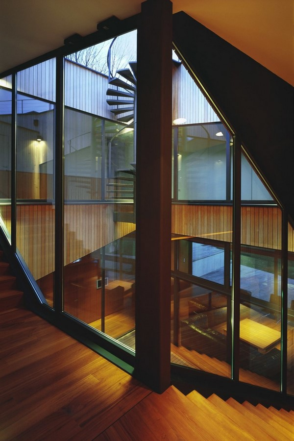 20 Examples of home with beautiful central atriums - Sheet6