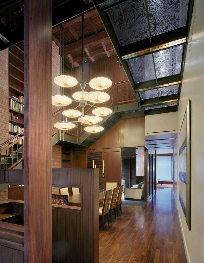 20 Examples of home with beautiful central atriums - Sheet7