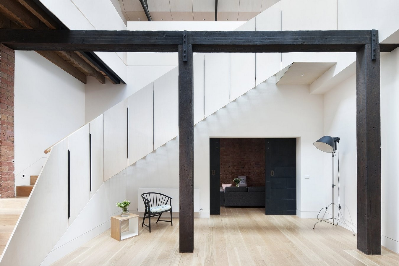 20 Examples of home with beautiful central atriums - Sheet8